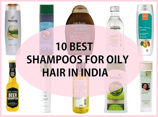 10 Best Shampoos For Oily Hair In India Haircare Pinterest