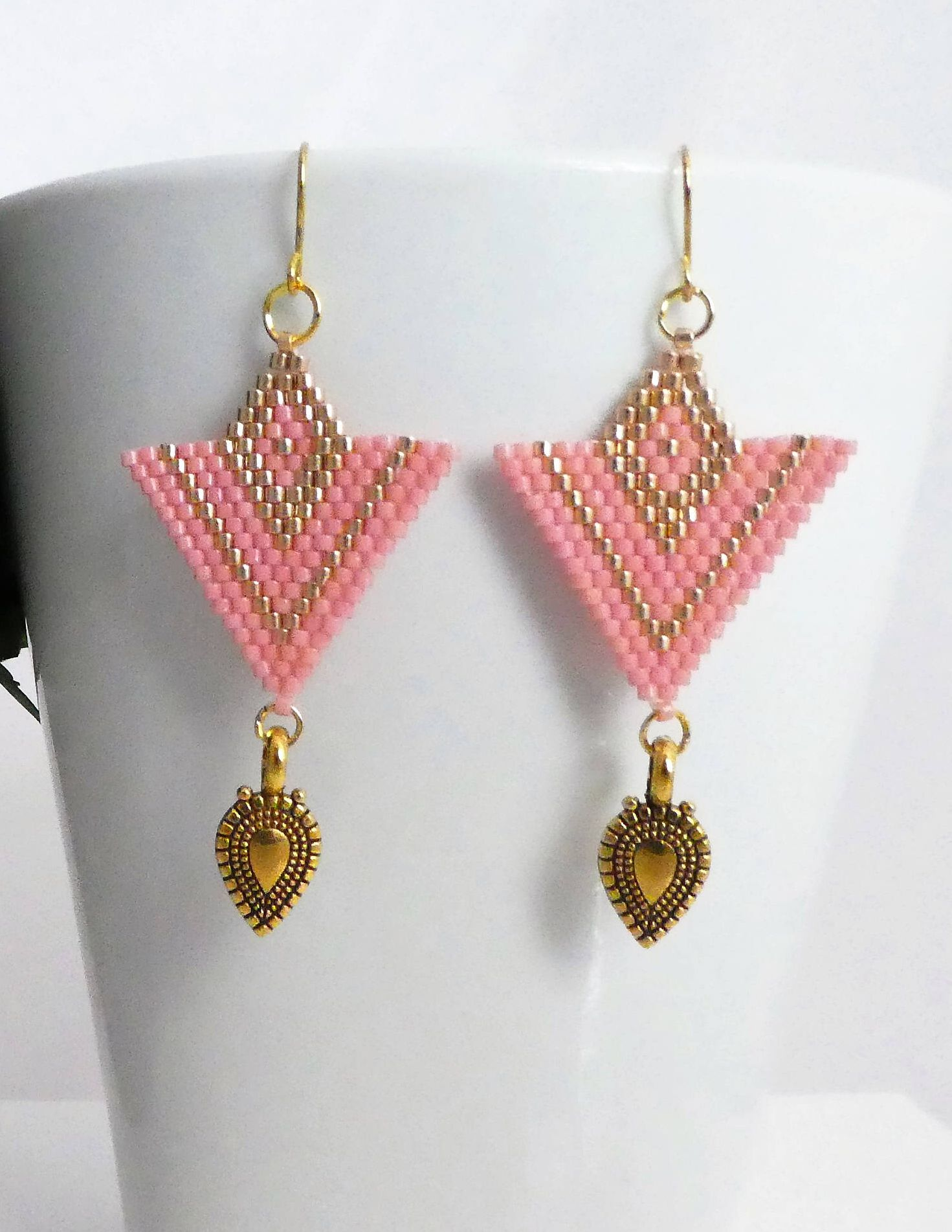 earrings with decontie by wabanaki marketplace stitch penobscot drop faye fringe brick beaded fayedecontie products