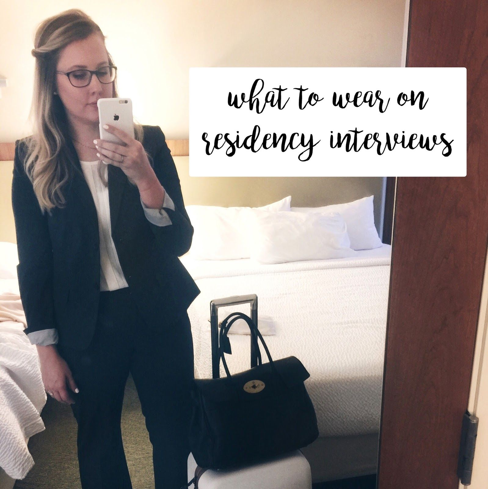 advice for residency interviews, what suit to wear on residency