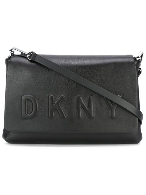7f2c955f09be Shop DKNY embossed logo crossbody bag.