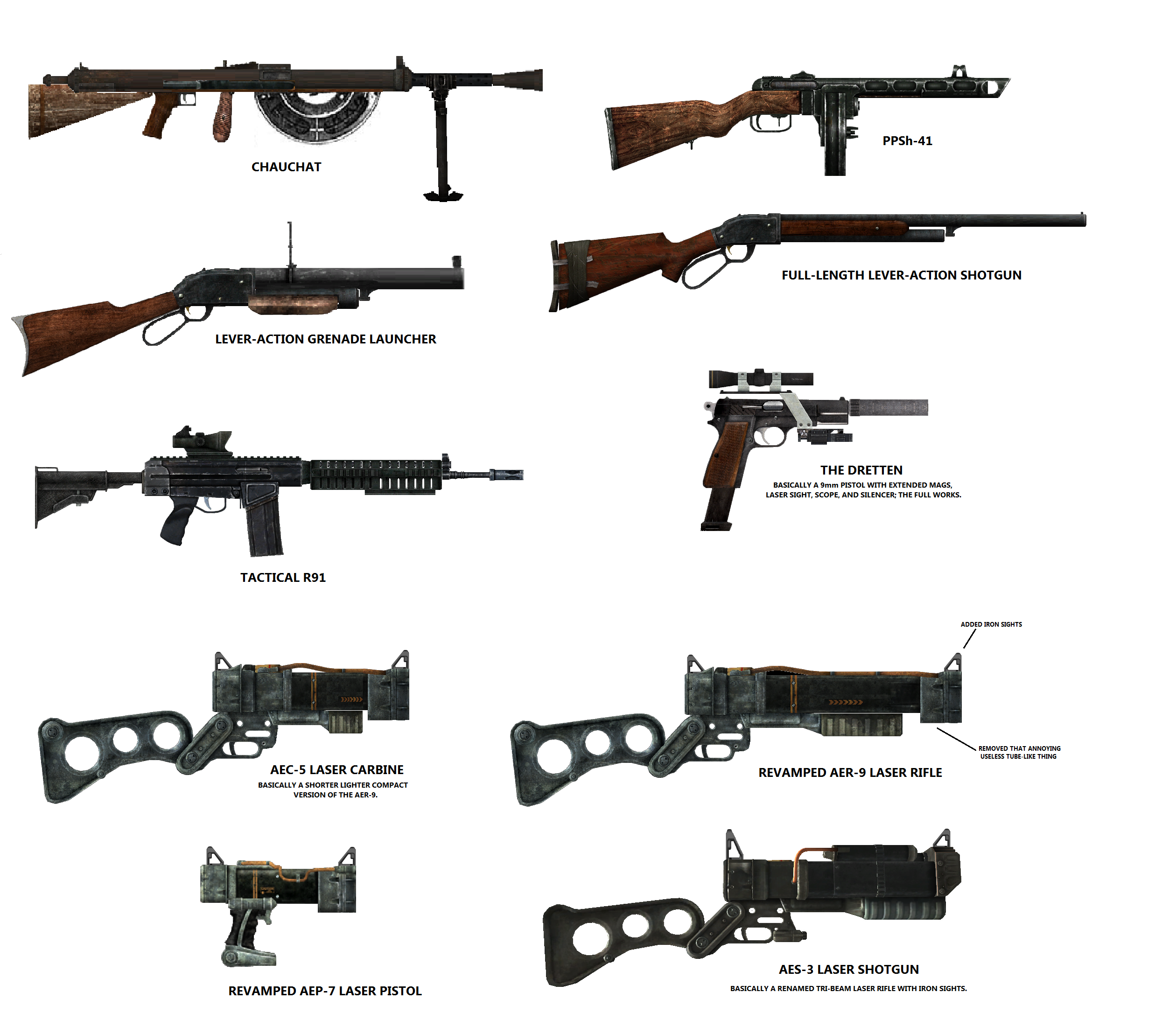 Fallout Nv Weapons Part 6
