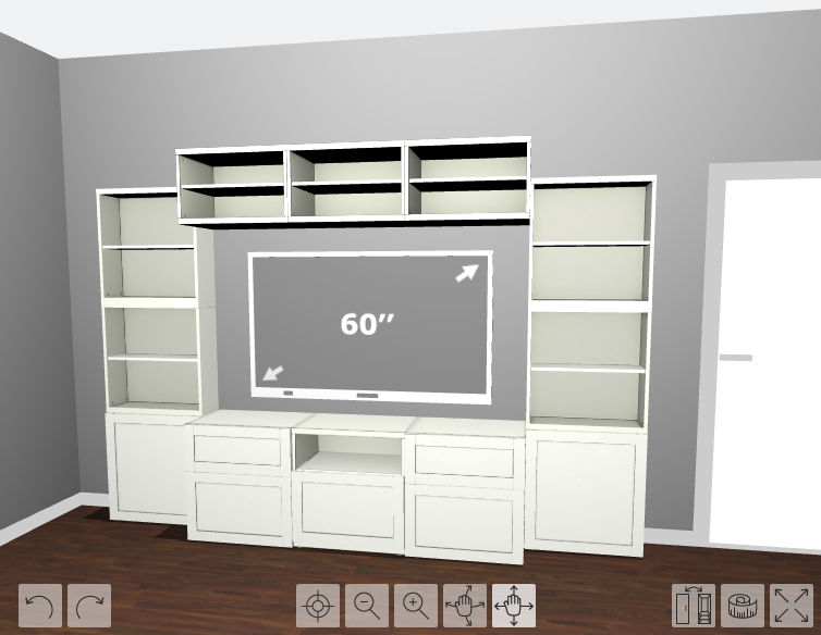 How To Design Install And Add Trim To An Ikea Besta Built In