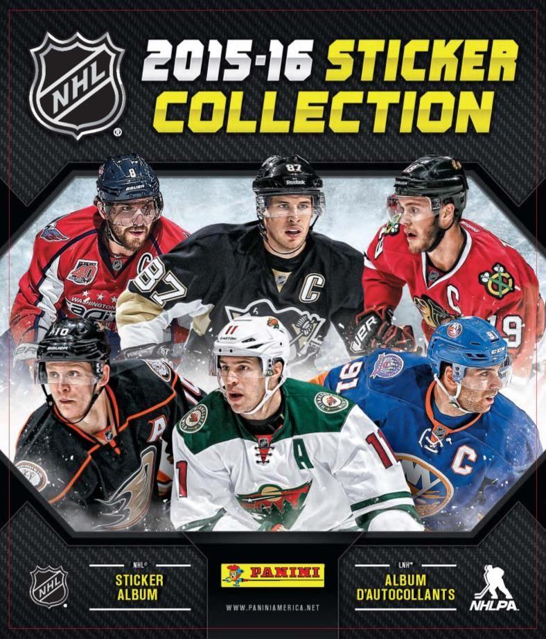 201516 Panini NHL Sticker & Album Collection Sticker