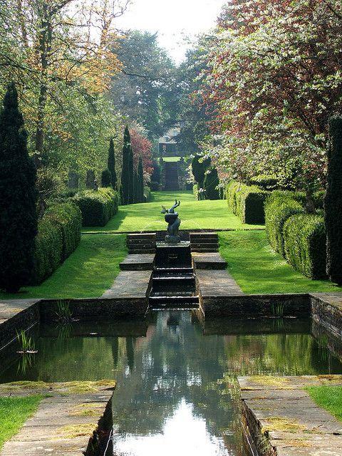 Buscot Park Oxfordshire Water Features In The Garden Landscape Design Beautiful Gardens