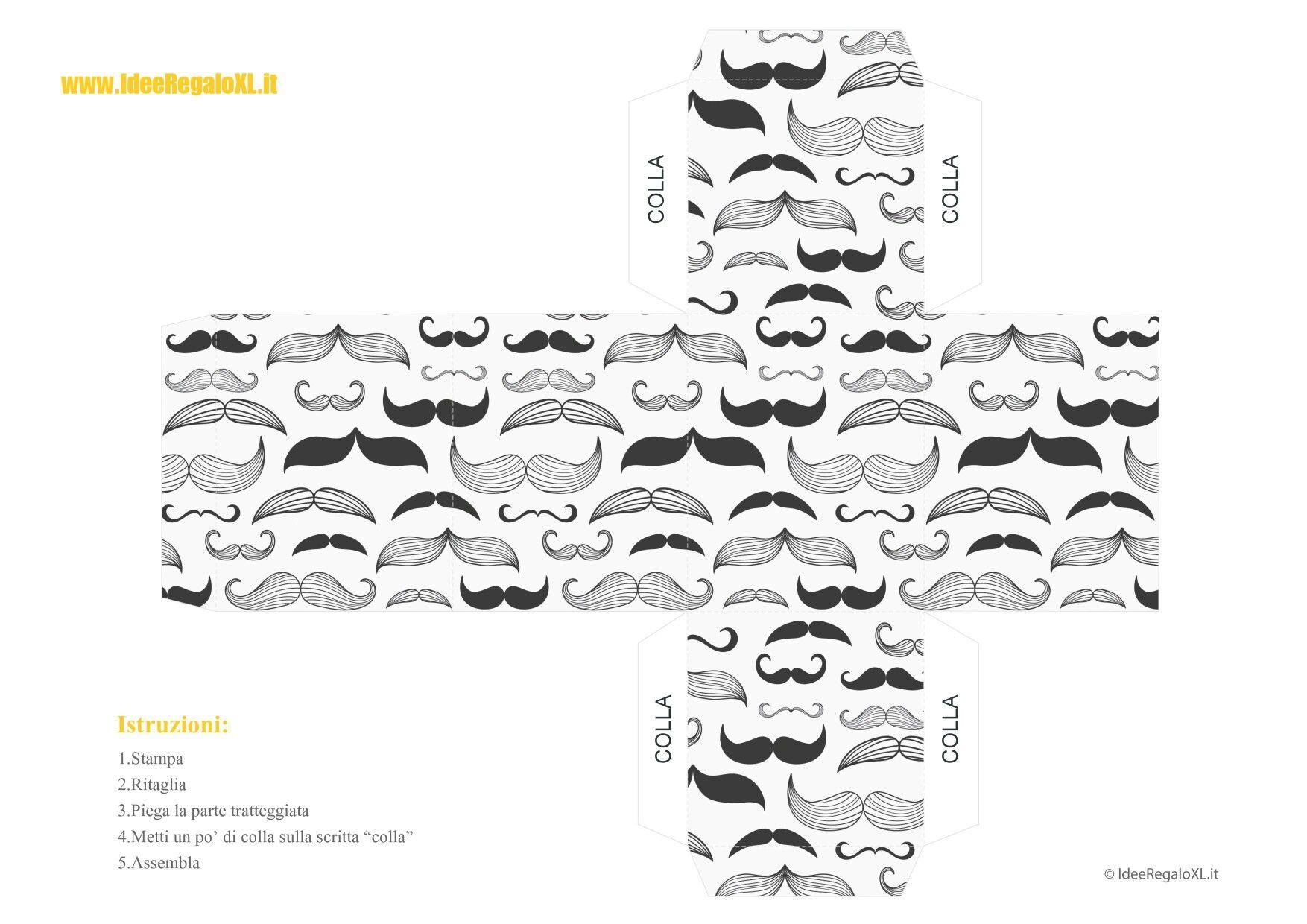 Cajita cubo bigotes