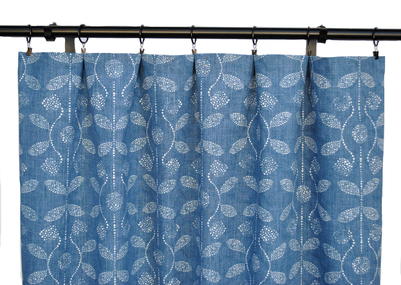 Blue Denim Curtains Blue Curtain 2 Curtain Panels Curtains