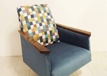 Redesign Obrotowy Fotel Prl Krzesła Meble Krzesła I Etsy