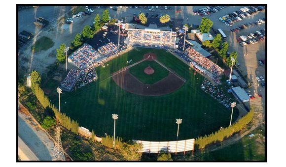 Sam Lynn Field Bakersfield Blaze Bakersfield California Baseball Stadium Bakersfield