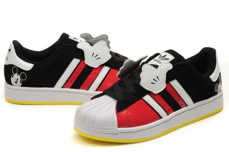 Cheap Adidas Originals Superstar Foundation White Navy Red Mens Casual