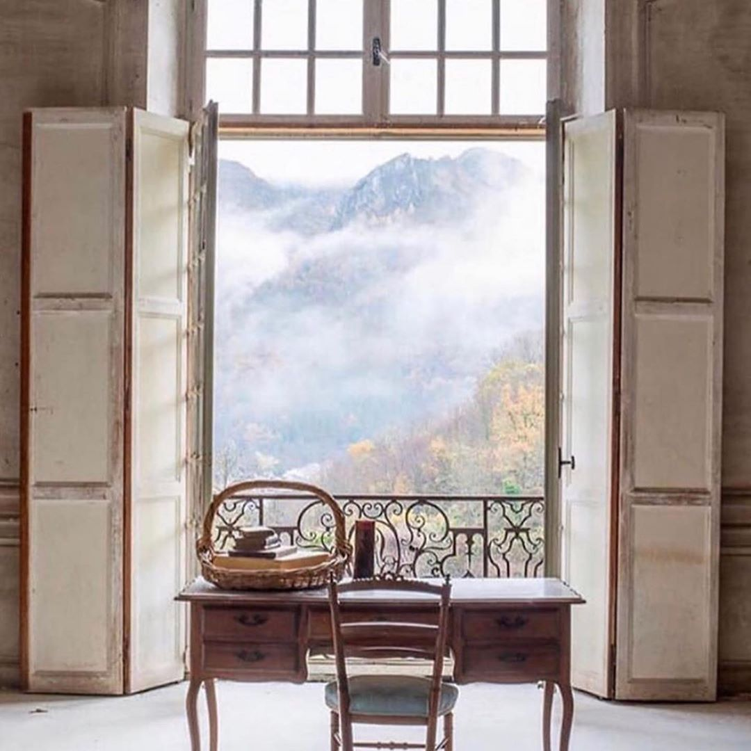 #Repost @slightly_quirky_ltd_london #Repost @kellybehunstudio with @get_repost ・・・ view from Château de Gudanes in Château-Verdun, France . . . . . . #chateaudegudanes #chateauverdun #france #roomwithaview #workfromhome #homeoffice #interiordesign #interior #design #decor #interiorarchitecture #architecturaldetails #interiorphotography #kellybehunstudio via @chateaugudanes