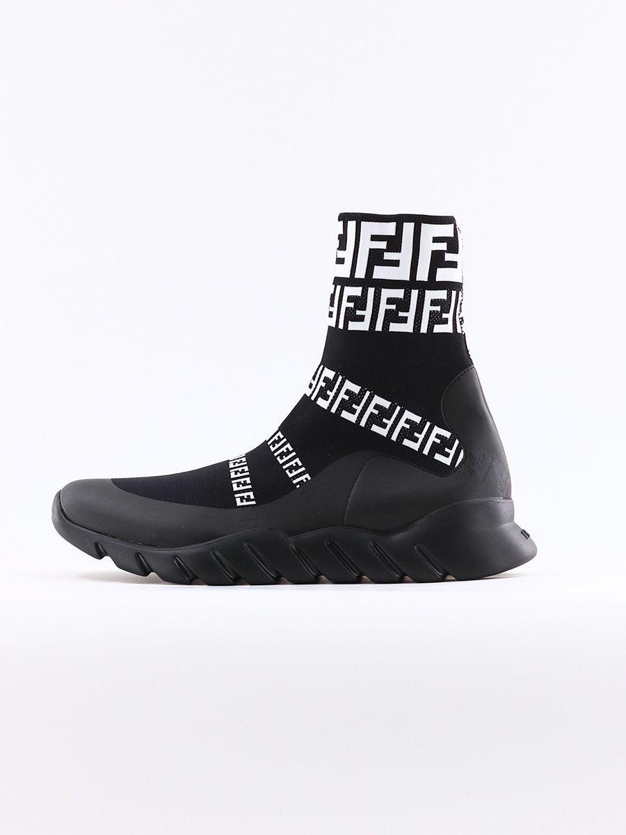 fendi sock sneakers