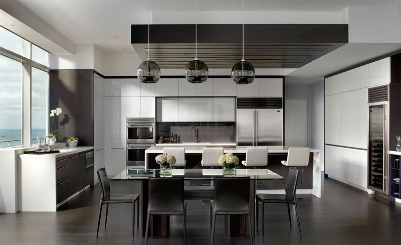 Chicago Penthouse | Kitchen Gallery | Sub-Zero & Wolf Appliances ...