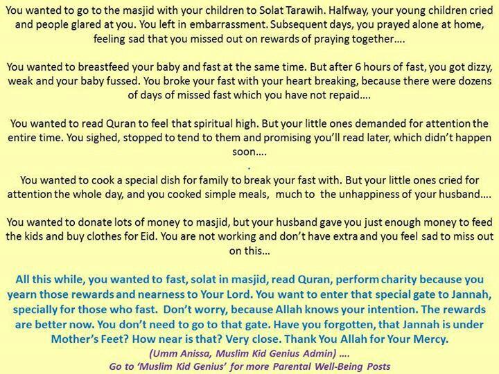 Breast feeding in islam