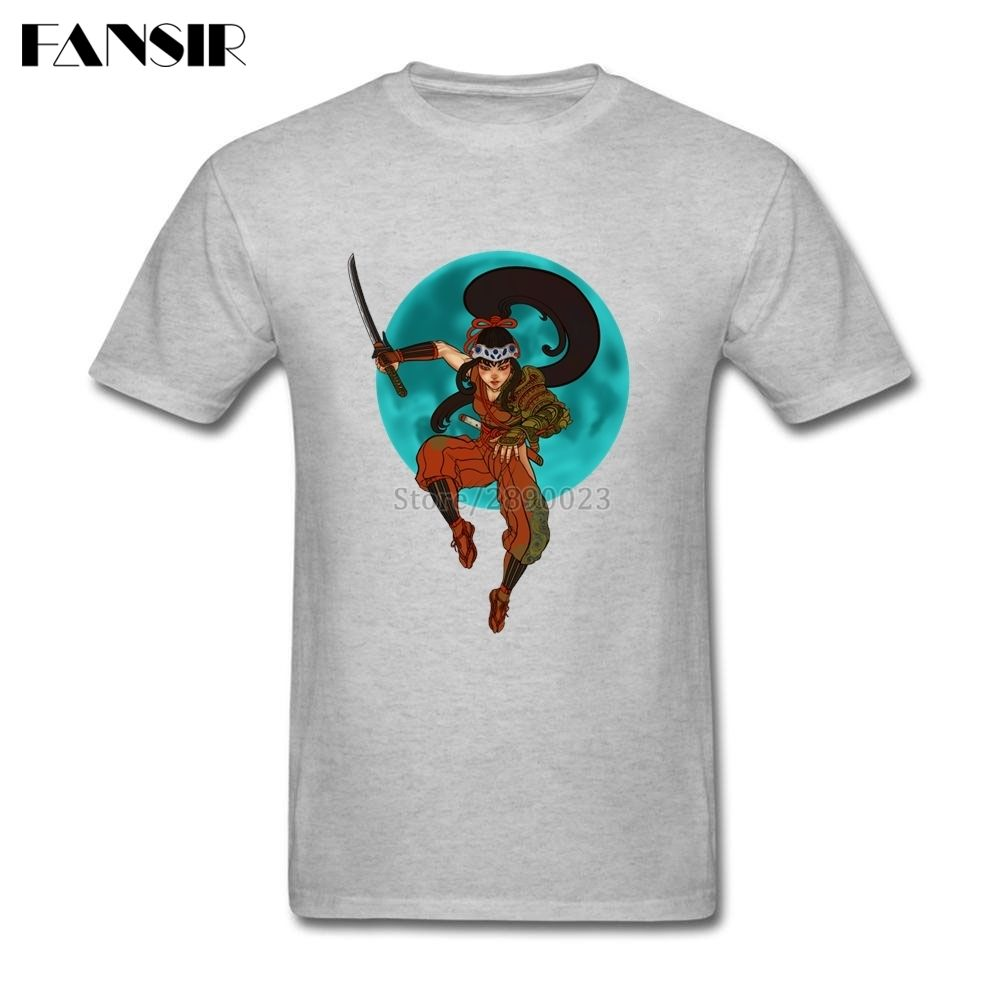 e1d2af25d9a Click to Buy    Anime Moon Leap Warrior Men Tshirts Printing Tees ...