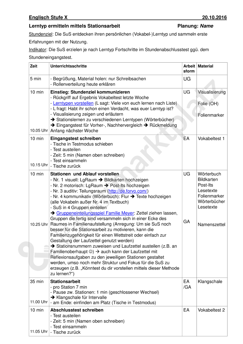 Gemütlich Vokabel Journal Vorlage Ideen - Entry Level Resume ...