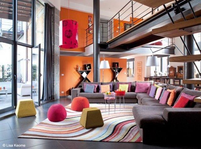 28 Salon loft colore design
