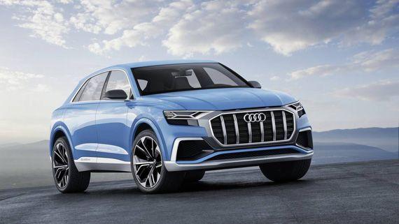 Концепт кроссовера Audi Q8 2017 / Ауди Q8 2017