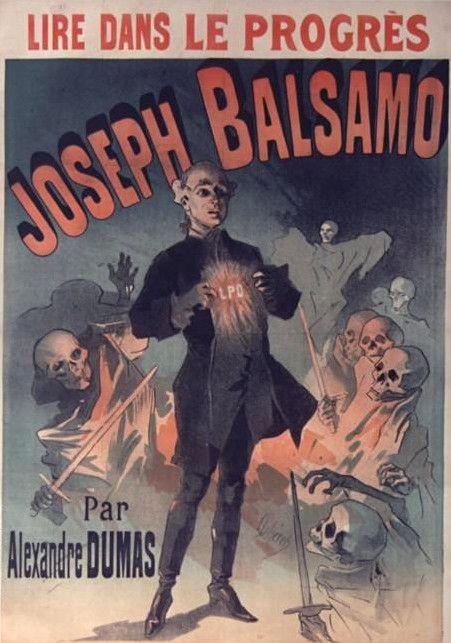 תוצאת תמונה עבור dumas joseph balsamo