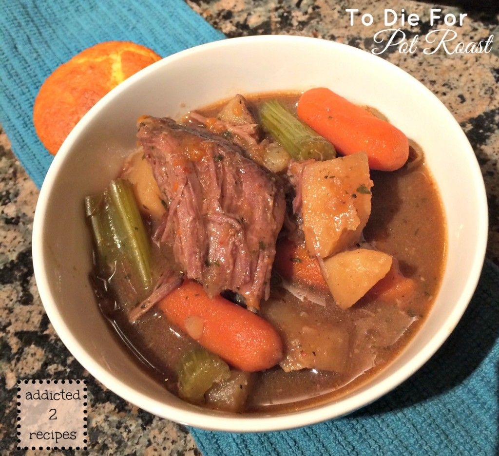 To Die For Pot Roast #slowcooker #recipe
