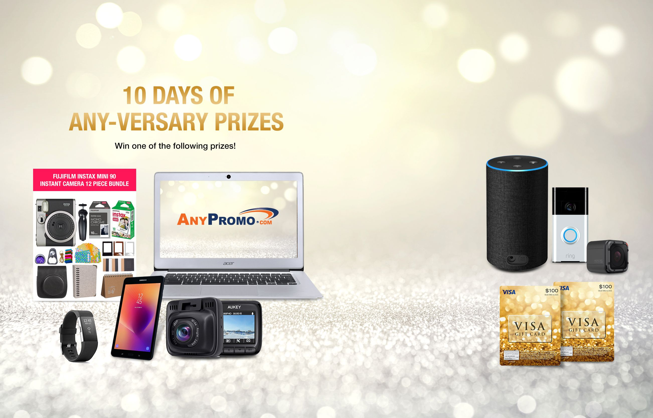 10 Days Of Any Versary Prizes Enter Sweepstakes Win Prizes