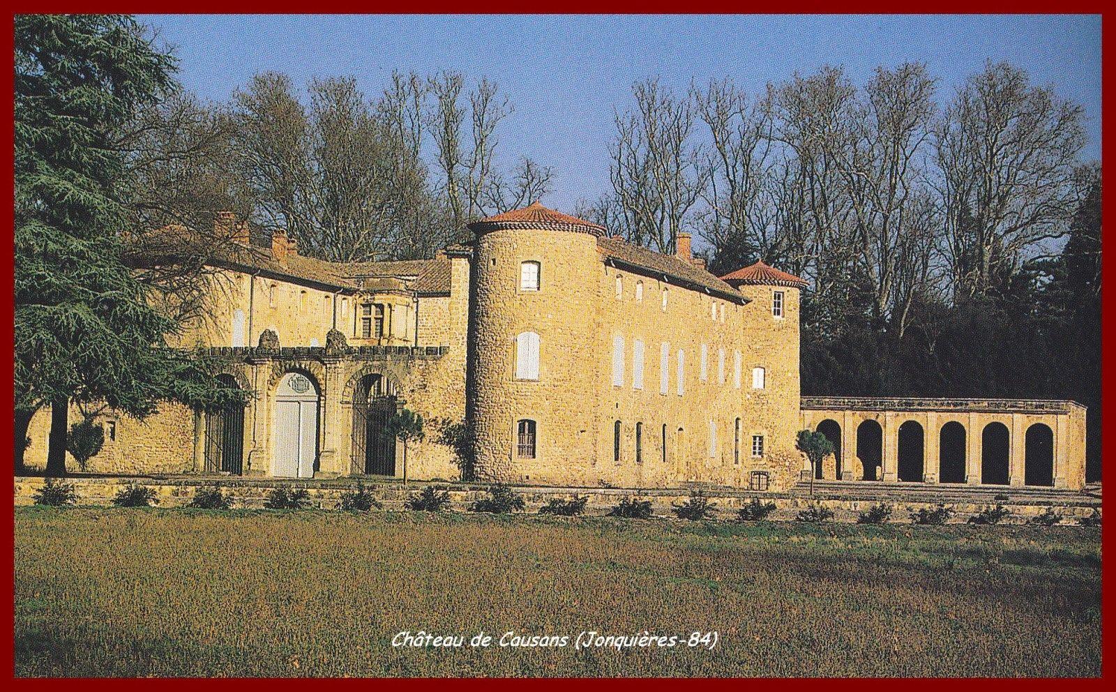 Jonquieres Chateau De Causans