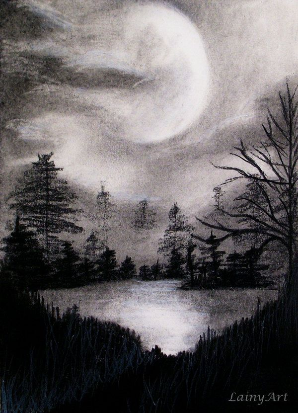 Day 63 Nature Art Drawings Drawing Scenery Landscape Pencil Drawings