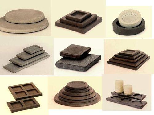 Bases De Cemento Para Decorar Con Velas Y Otros Objetos