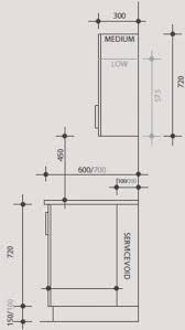 Kitchen Wall Cupboard Height