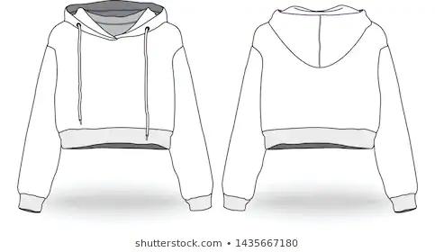 Hoodie Branco Dianteiro E Traseiro Hoodie Mockup Free Hoodies Custom Clothes