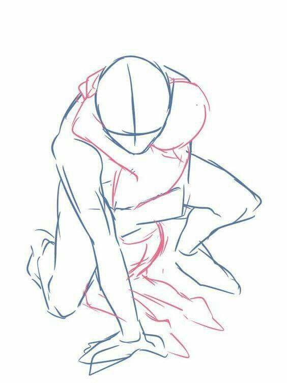 Pin von Nero Kurone auf Action Post | Pinterest | Körper zeichnen ...