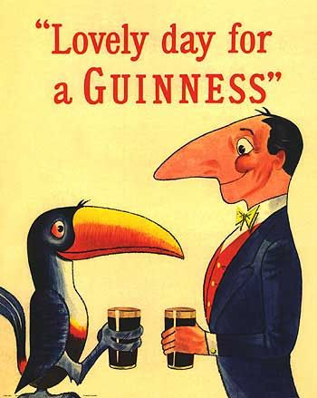 everyday is a lovely day for a guinness. | Vintage Posters ...