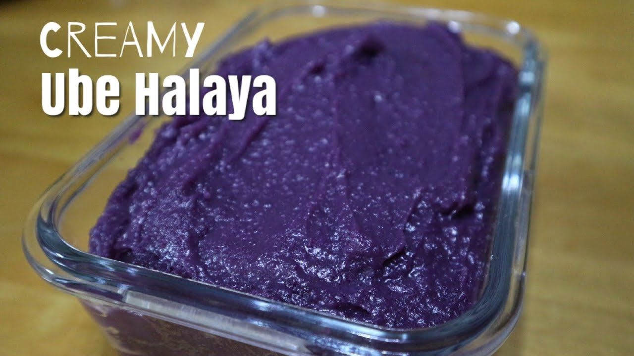 How To Make Ube Halaya Creamy Ube Halaya Creamy Purple Yam Jam Negosyo Recipe Y Ube Halaya Recipe Ube Halaya Recipe Panlasang Pinoy Halayang Ube Recipe