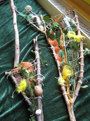 Projektwoche natur erleben und gestalten work natur for Basteln herbst mit naturmaterialien
