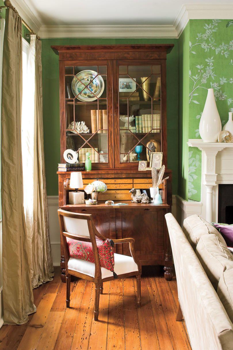 Charleston-Style Living Room   Living room ideas, Room ideas and ...