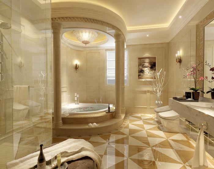 ▷ 1001 + modèles pharamineux de la salle de bain moderne - peindre plafond salle de bain