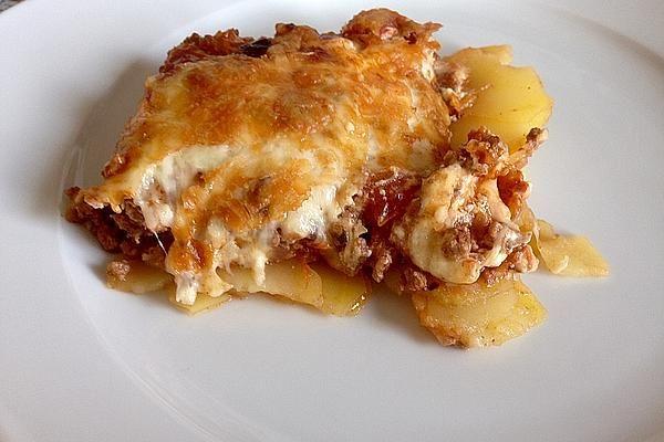 Bologneser Kartoffelauflauf #gulaschrezept