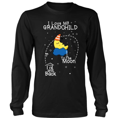 I Love My Grandchild To The Moon & Back (singular)