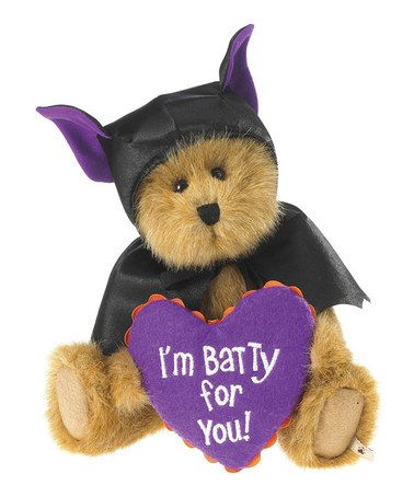 Look what I found on #zulily! Drake Batbeary Plush Bear #zulilyfinds