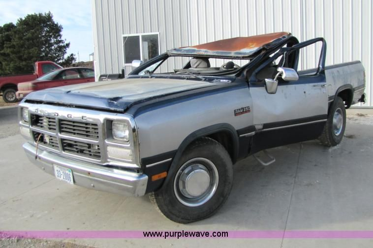 transmission diagram for a 1991 dodge ram 250 pickup | 1991 dodge ram d-250  pickup truck | no-reserve auction on wednesday