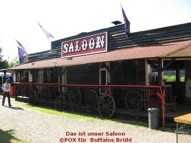Der Saloon  des Country - und Western Clubs Buffalos aus 68782 Brühl - Germany