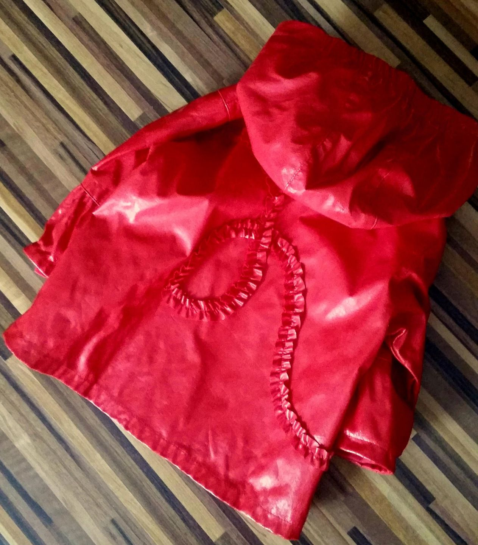 Kanz Plaszczyk Przeciwdeszczowy Czerwony J Zara 86 7820902519 Oficjalne Archiwum Allegro Fashion Kids Fashion Red Leather Jacket