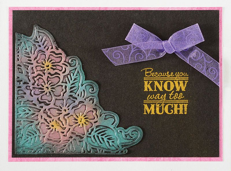Paper Wishes® Weekly Webisodes Videos featuring NEW Paper Artist™ Embossing Folders by Hot Off The Press Plus NEW Shimmer Sheetz by Elizabeth Crafts. Join us for a FREE webisode at PaperWishes.com featuring Card making and scrapbooking techniques, creative craft ideas and more! Come prepared to be totally inspired! This webisode features Hot Off The Press Embossing Folders - Lacy Frame and Postcard Embossing Folders