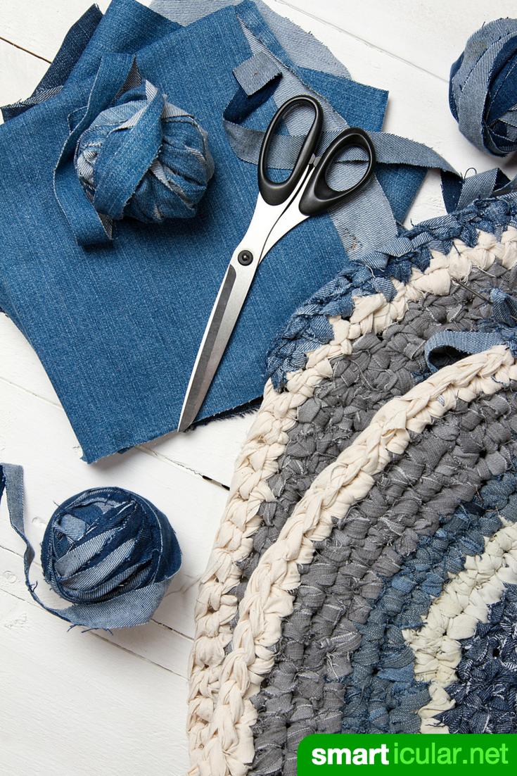 die besten 25 alte jeans teppich ideen auf pinterest denim teppich alte kopfkissen und. Black Bedroom Furniture Sets. Home Design Ideas