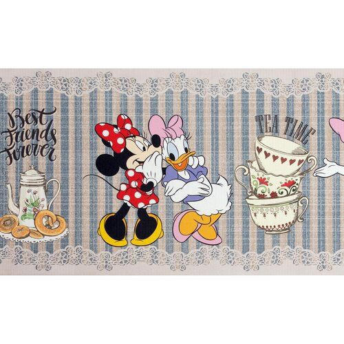 Mickey Mouse & Friends Disney Tea Time Kitchen Mat | Wayfair.co.uk