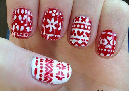 15 Stunning Christmas Nail Designs To Make Your Day Acrylic Nail