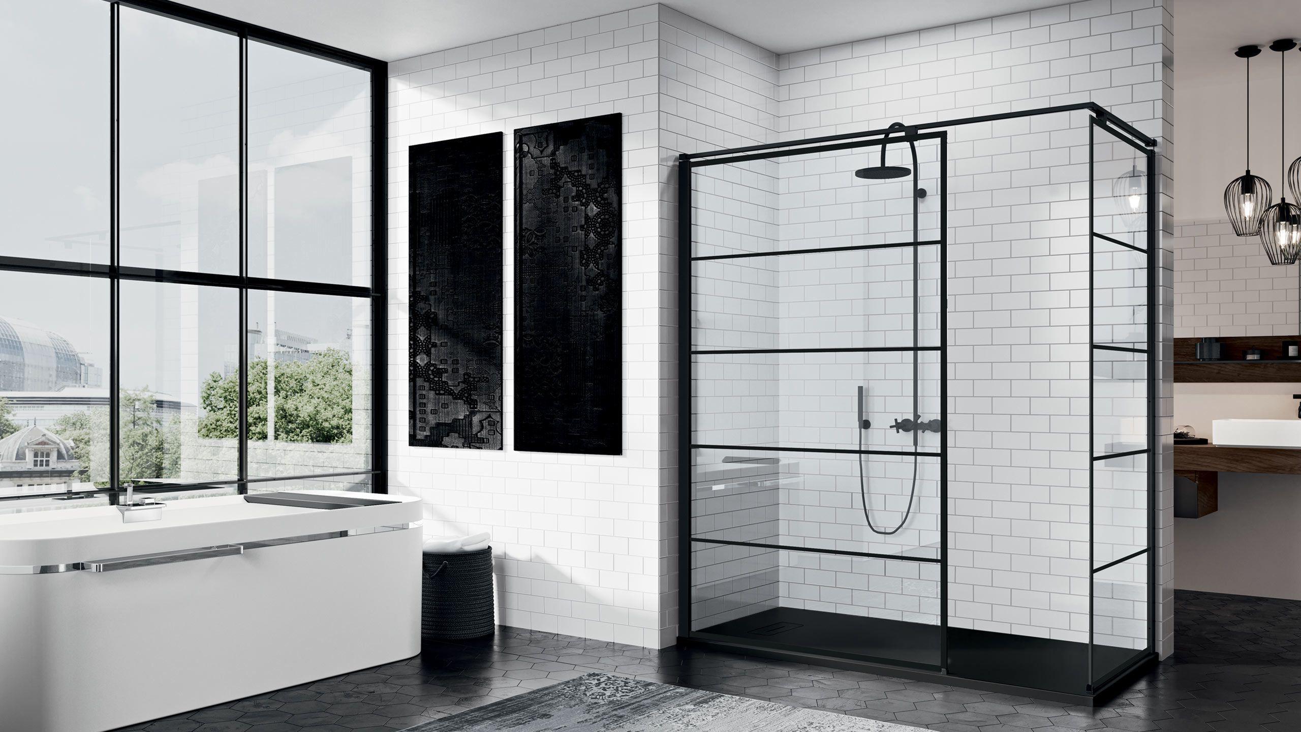 Le Design Italien Renouvelle La Salle De Bain Avec Novellini Paroi De Douche Douche Design Douche