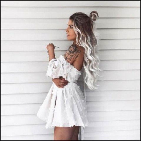 93 balayage Haarfarbideen für Brünette im Sommer 2019  Seite 26 | myblo #platinumblondehighlights