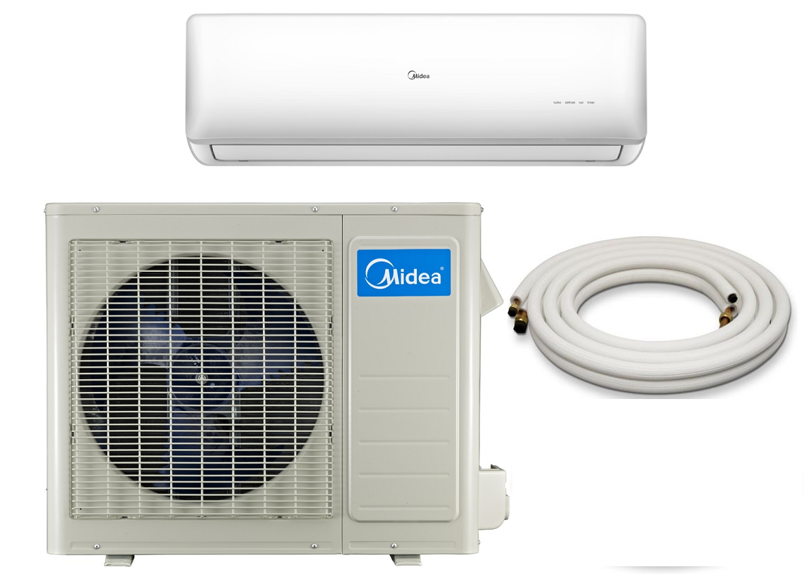 Midea 18000 Btu 21 Seer Super Dc Inverter Mini Split Heat Pump Ac Includes Energy Star Certification On Heat Pump Air Conditioner Heat Pump System Heat Pump