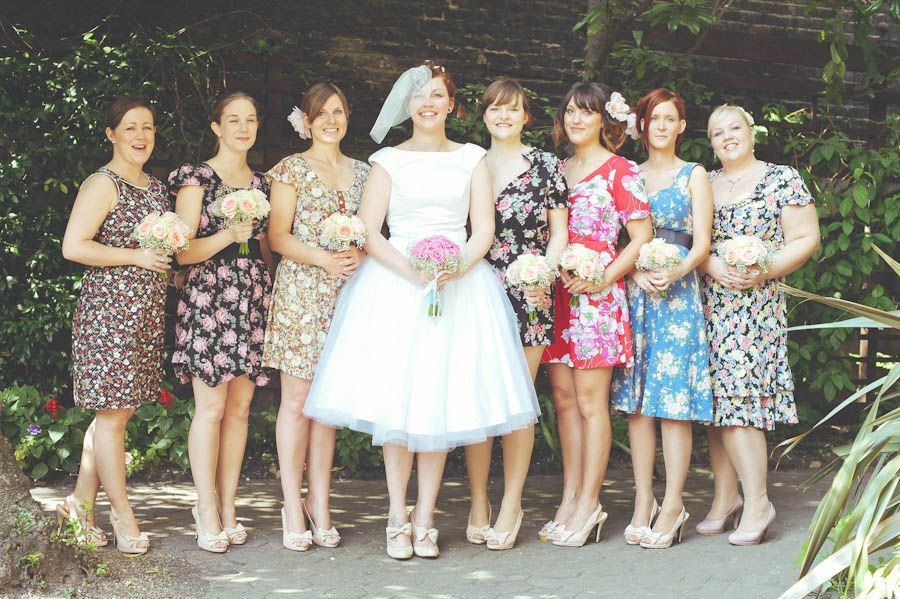 I Love This Idea For Bridesmaid Dresses