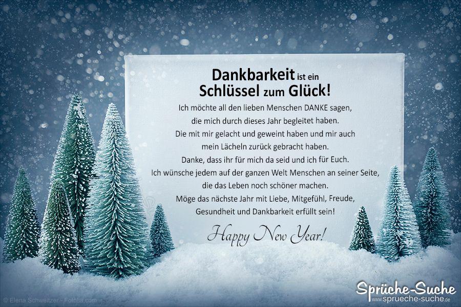 Happy New Year! – Dankbarkeit ist ein Schlüssel zum Glück! #happynewyear2020quotes